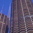Marina City, Chicago, 1968. by johnrf