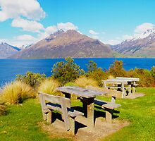 Lake Wakatipu - Central Otago - New Zealand by Paul Davis