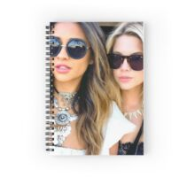 Ash and Shay Spiral Notebook