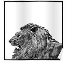 Weathered Bronze—The Lion Poster