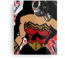 Wonder Woman x COD AW Mash Up Metal Print