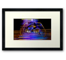 Losing Reality Framed Print