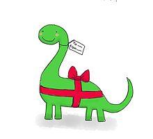 Bronntanasaurus by twisteddoodles