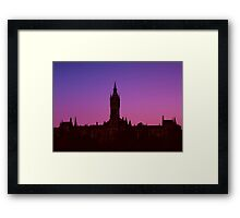 University Dawns Framed Print