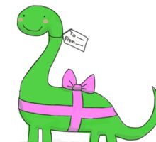 Bronntanasaurus Sticker