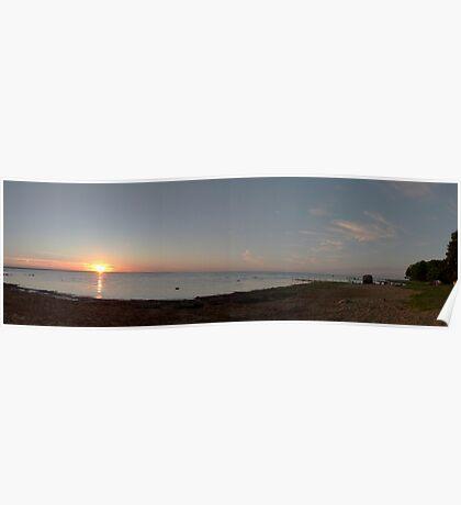 Sunset, Kärdla. Poster