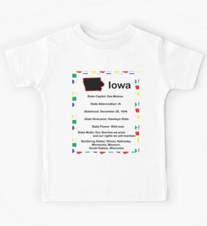 Iowa Information Educational Kids Tee
