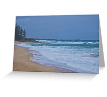 Boiling Seascape Greeting Card