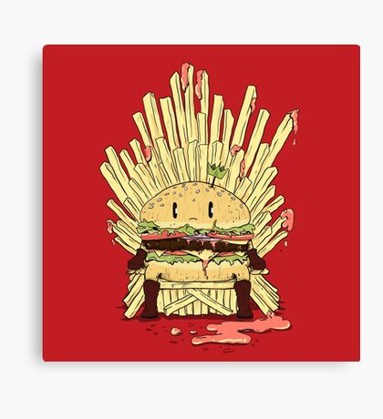 BURGER KING Canvas Print