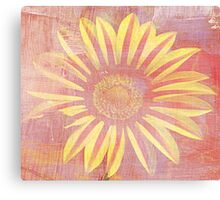 Bright And Sunny - Floral Print Canvas Print