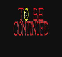 To Be Continued One Piece Ending Women's Fitted Scoop T-Shirt