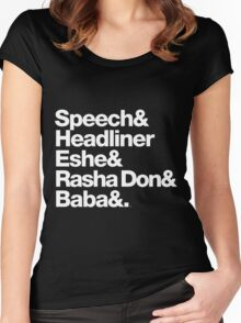 Homage to Speech & Headliner of Arrested Development Women's Fitted Scoop T-Shirt