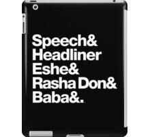 Homage to Speech & Headliner of Arrested Development iPad Case/Skin