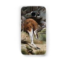 Friedrich Wilhelm Kuhnert A group of Red kangaroos on the move Colour reproduction of Wellcome Samsung Galaxy Case/Skin