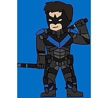 Nightwing Arkham Knight Photographic Print