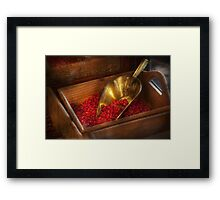 Food - Candy - Hot cinnamon candies  Framed Print