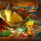 Food - Candy - One scoop of candy please  by Mike  Savad