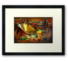 Food - Candy - One scoop of candy please  Framed Print