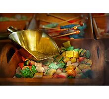 Food - Candy - One scoop of candy please  Photographic Print