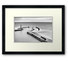 Time Heals the Rough Seas Framed Print