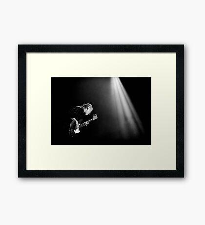 Bass Man - Norman Watt-Roy Framed Print