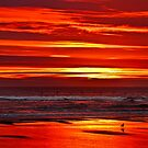 Red Pacific by haybales