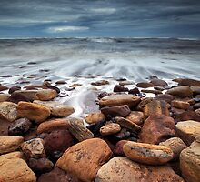 On Golden Rocks by Andy Freer