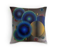 radials 2 Throw Pillow