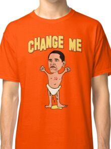 "Obama ""Change Me"" Baby Classic T-Shirt"