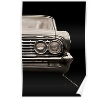 Classic Car (brown) Poster