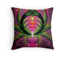 Sweeping Curves Throw Pillow