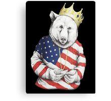 Bigi Bear America Canvas Print