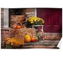 Autumn - Gourd - Autumn Preparations Poster