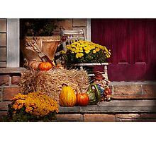 Autumn - Gourd - Autumn Preparations Photographic Print