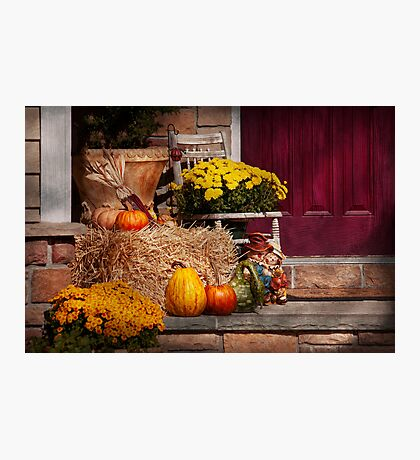 Autumn - Gourd - Autumn Preparations Photographic Print