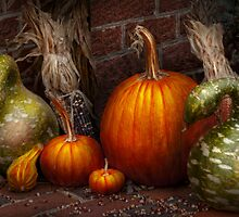 Autumn - Gourd - Family get together by Mike  Savad