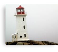 Llighthouse at Peggy's Cove Canvas Print