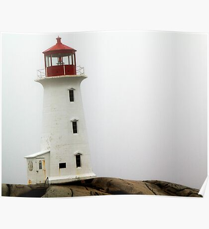 Llighthouse at Peggy's Cove Poster