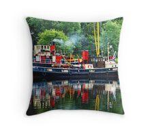 Nautical Reflections Throw Pillow