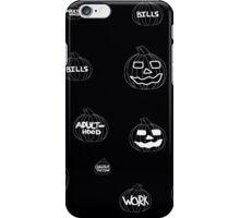 Scariest Pumpkins Around Recolor iPhone Case/Skin