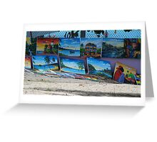 Jamaica, Art, Negril Greeting Card