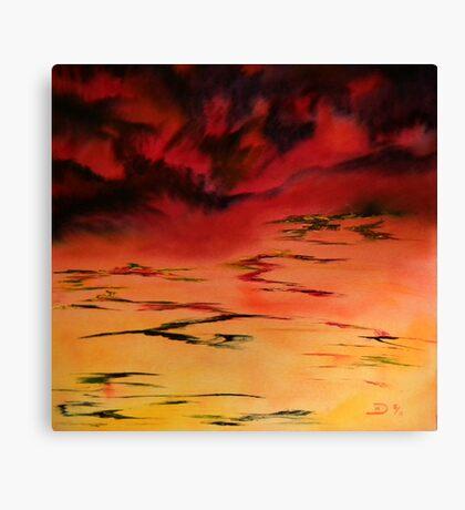 Tropical  Storm 3 Canvas Print
