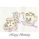 Birthday Tea by Patsy Smiles