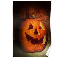 Autumn - Halloween - Jack-o-Lantern  Poster