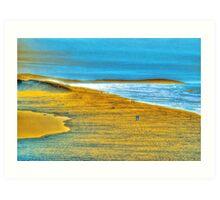 Bodega Stroll Art Print