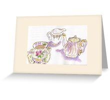 Nice cup of tea Greeting Card