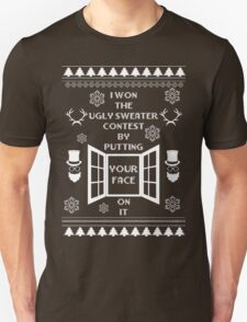 Unique ugly christmas sweater design. T-Shirt