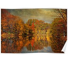 Autumn - Landscape - Tamaques Park - Autumn in Westfield New Jersey  Poster