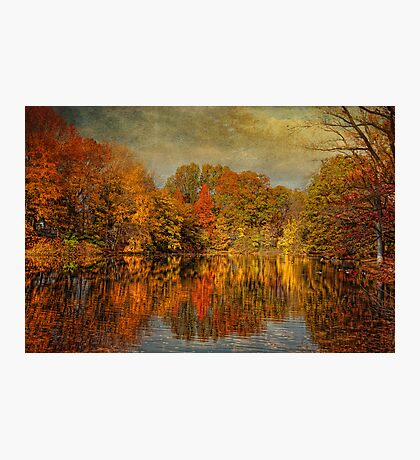 Autumn - Landscape - Tamaques Park - Autumn in Westfield New Jersey  Photographic Print