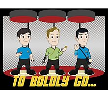 To Boldly Go Photographic Print